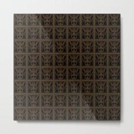 Maya pattern 6 Metal Print