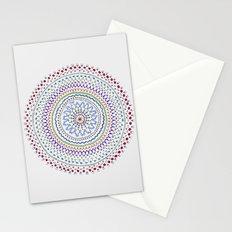 Mandala Smile B Stationery Cards