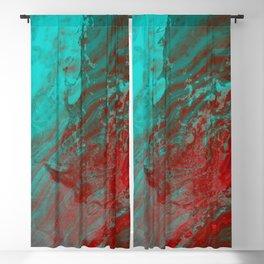 Dramatic Carmel Sunset - Ocean Color Blackout Curtain