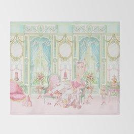 Marie Antoinette, Palace of Versailles, Diorama Throw Blanket