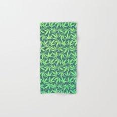 Cannabis / Hemp / 420 / Marijuana  - Pattern Hand & Bath Towel