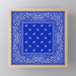 Bandana Royale  Framed Mini Art Print