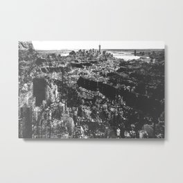 Cliff Dwelling III Metal Print