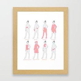 Vocab 1 Framed Art Print