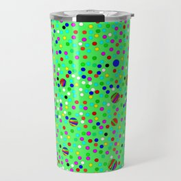 Colorful Rain 10 Travel Mug