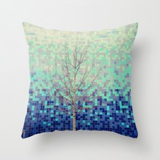 Waiting to Blossom! Throw Pillow