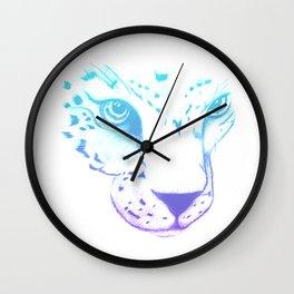 The Eyes of Tiger Wall Clock
