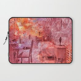 Al Capone's Vibrant Acrylic Cell Laptop Sleeve