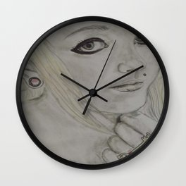 Scene Girl - Krista Rae Wall Clock