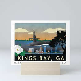 Kings Bay, GA - Submarine Homeport Mini Art Print