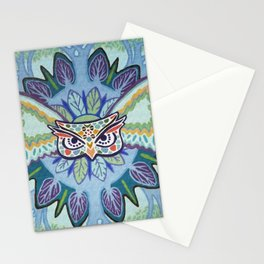 Angry Owl Stationery Cards