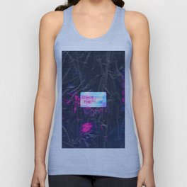 Chaos make the muse Unisex Tank Top
