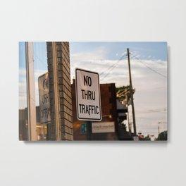 Street Sign Metal Print