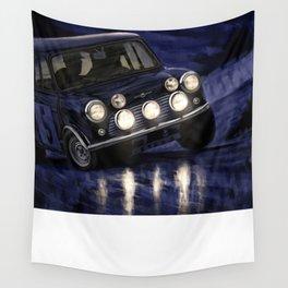 Motor Style Inc.: Rallye Monte Carlo Wall Tapestry