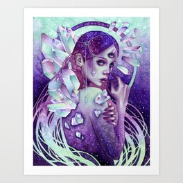 Aether Art Print