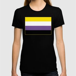 Gender Non-Binary Flag T-shirt