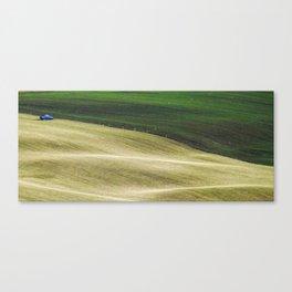 Blue spot Canvas Print