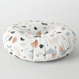 Terrazzo Stone Confetti blush Floor Pillow
