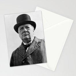 Sir Winston Churchill Stationery Cards