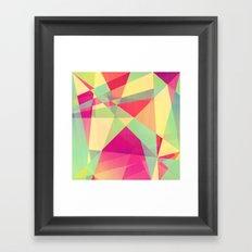 Summer Abstract Framed Art Print