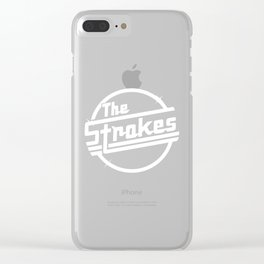 THE STROKES TOUR DATES 2019 PAHOMAN Clear iPhone Case