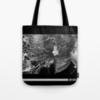 rush Tote Bags featuring Rush by YaZ#