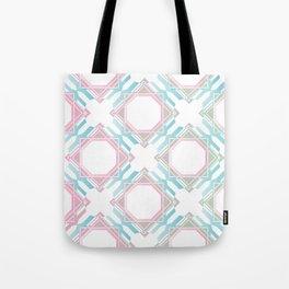 Pastel Diamonds Tote Bag