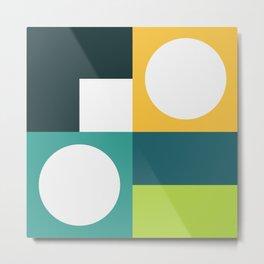 Modern Geometric 55 Metal Print