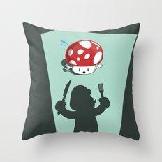 Oh no! It's Mario! Throw Pillow