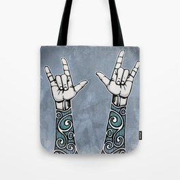 Double Rock Sleeve Tote Bag