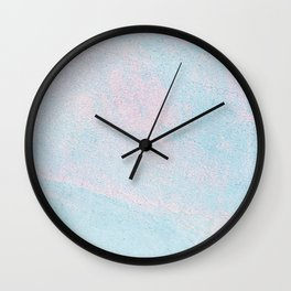 Cotton Candy Colors Wall Clock