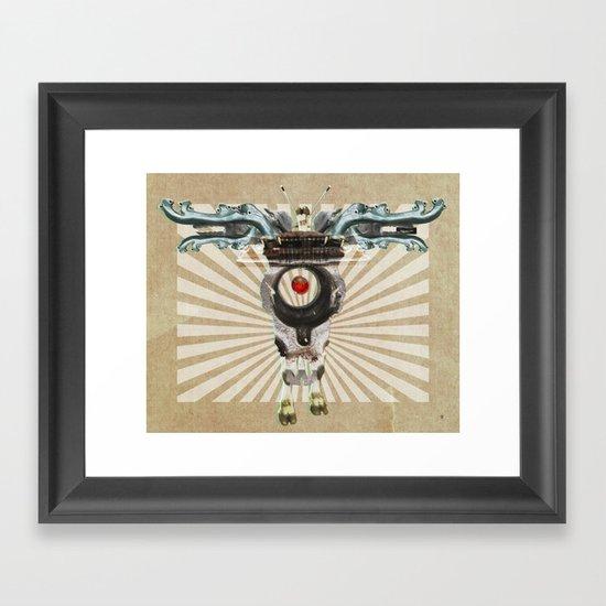 Radiation Day · Monolithic Baby Framed Art Print
