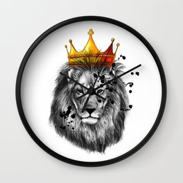 lion king Wall Clock
