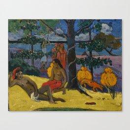 "Paul Gauguin ""Te Arii Vahine (La Femme Aux Mangos)"" Canvas Print"