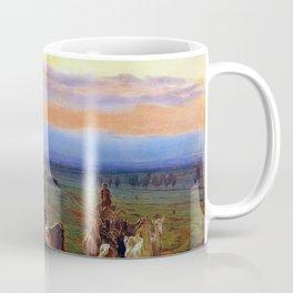Ferdinand Georg Waldmüller Evening Landscape Coffee Mug