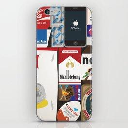 Consumption of goods iPhone Skin