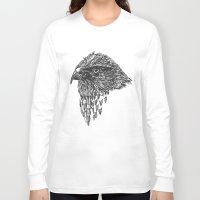 hawk Long Sleeve T-shirts featuring Hawk by Stewart S