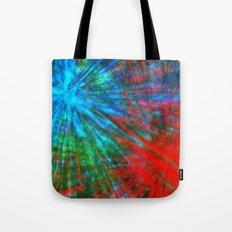 Abstract Big Bangs 001 Tote Bag