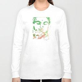 Watercolor Buddha No. 206 by Kathy Morton Stanion Long Sleeve T-shirt