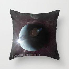Starkiller Base Throw Pillow
