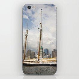 Boston Harbor History iPhone Skin
