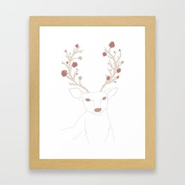 lana deer ray Framed Art Print