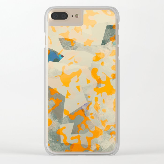 Camouflage XXXXIII Clear iPhone Case