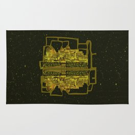 Space Colonization Rug
