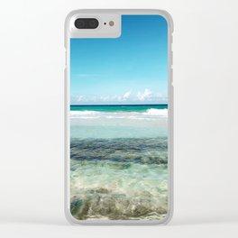 Beachin' Clear iPhone Case