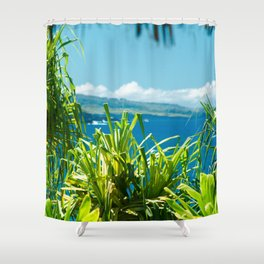 Kahanu Garden Shower Curtain