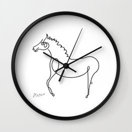 Pablo Picasso, Horse Artwork, Animals Sketch, Prints, Posters, Tshirts, Bags, Men, Women, Kids Wall Clock
