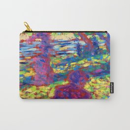 Georges Seurat Women in a Park Carry-All Pouch