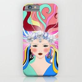 Goddes,abstract,Russian folk inspired art decor  iPhone Case