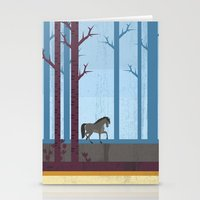 woods Stationery Cards featuring Woods by Kakel